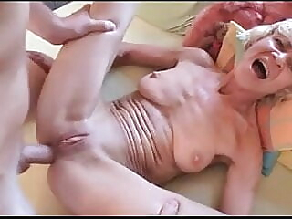 Desperate Petite German Granny Rita Gets Assfucked By Stud anal old & young granny